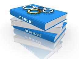 Parts manuals button